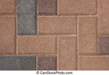 Brick Flooring Stone Pattern