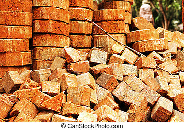 brick for construction background texture