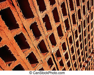 Brick holes