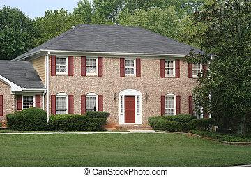 Brick House Red Trim