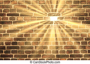 Brick in the wall