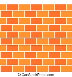 Brick pattern seamless color