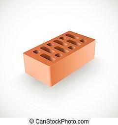 Brick Realistic Vector Template