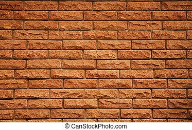 Brick texture  - Red brick background