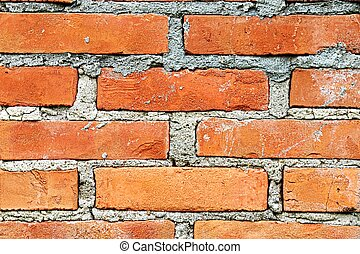 Brick wall, a background