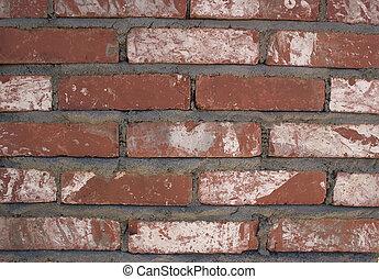 Brick wall - A small part of a brick wall