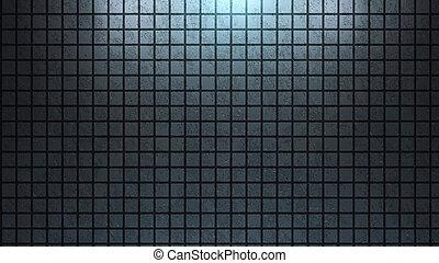 Brick wall background blue