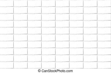 Brick wall background in white tone