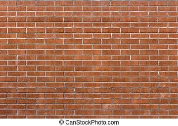 Brick wall background  - Red brick wall background