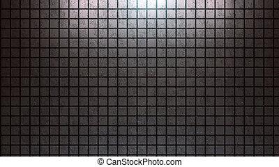 Brick wall background silver