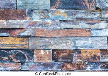 brick wall blur background