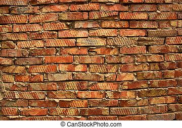 brick wall close up background
