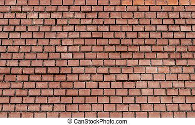 Brick wall close-up.