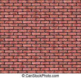 Brick wall - Close-up of colorful brick wall