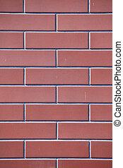 Brick wall close-up texture