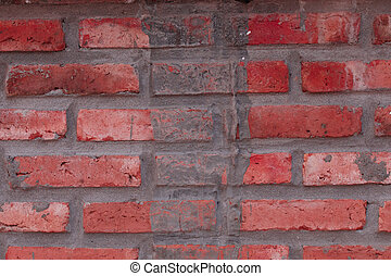 Brick Wall detail texture background