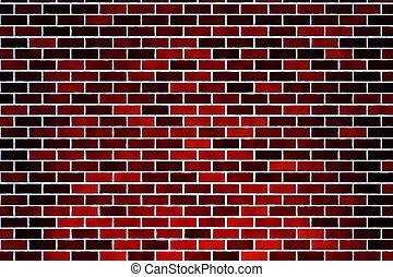 brick wall - red brick wall texture
