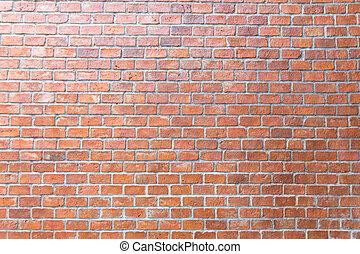 Brick wall for interior exterior decoration