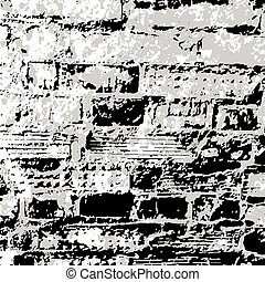 Brick wall grunge texture