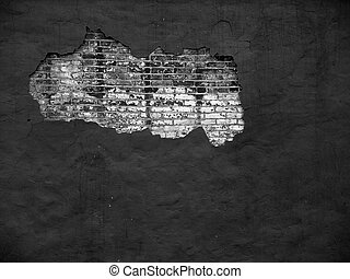 Brick Wall III (bw)