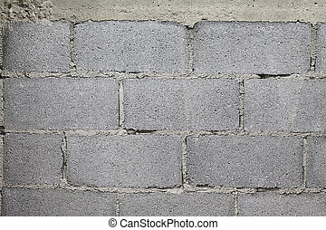 Brick wall in construction texture