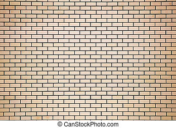 brick wall in the house as a background