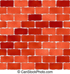 Brick wall pattern, abstract background