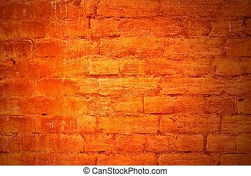 brick wall - perfect grunge background