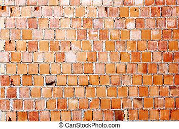 Brick wall - Abstract background - brick wall