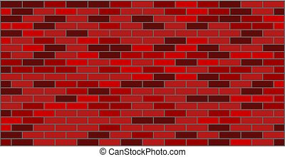 Brick wall red black texture graphic design