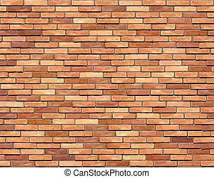 Brick wall seamless background.