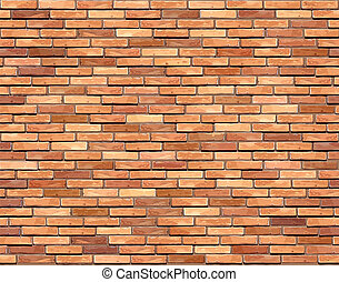 Brick wall seamless background.