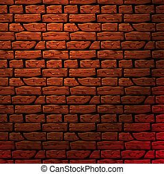 Background of brick wall texture, vector Eps10 illustration