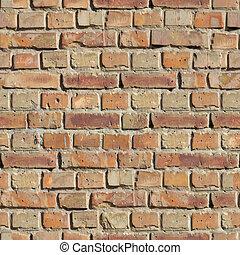 Brick Wall. Seamless Texture. - Brick Wall. Seamless...