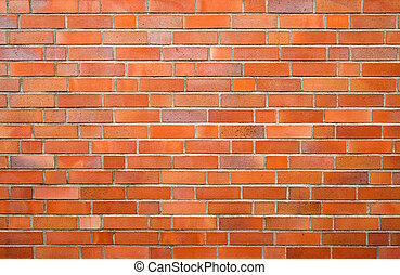 brick wall - Brick wall. The brick, also clay brick or...
