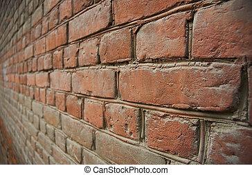 brick wall - old brick wall