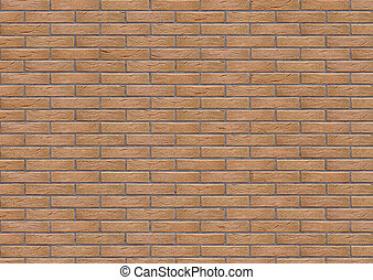 brick wall texture 3d illustration