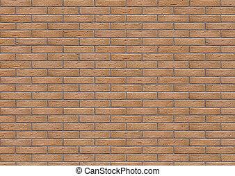 brick wall texture 3d illustration