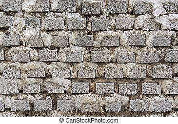 brick wall texture closeup