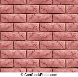 Brick Wall Texture Seamless Background