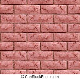 Brick Wall Texture Seamless Background