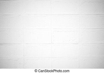 Brick wall texture Soft tone White color