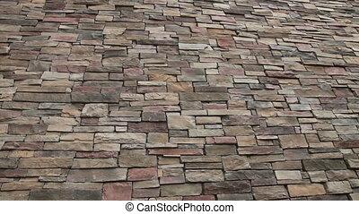 Brick wall tilt