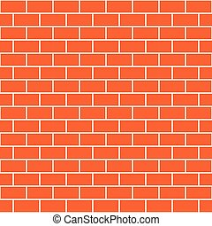 Brick Wall Vector Seamless Patterns - Brick wall seamless...