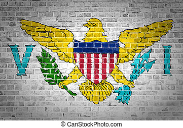 Brick Wall Virgin Islands