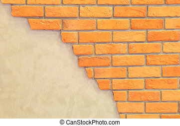 brick wall with space for text