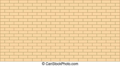 Brick wall yellow beige texture graphic design - yellow ...