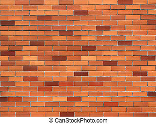 Brick wall,for background