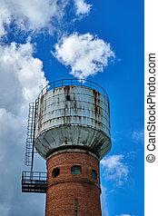 Brick water tower