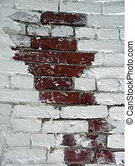 Brick White Wall 3